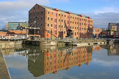 Gloucester Docks Royalty Free Stock Image