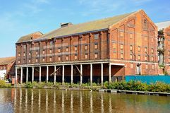 Gloucester Docks Warehouse. Stock Photography