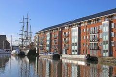 Gloucester dok Zdjęcia Royalty Free