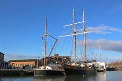 Gloucester dok Obraz Royalty Free