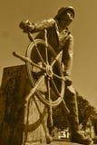GLOUCESTER FISHERMAN'S MEMORIAL MA Royalty Free Stock Photos