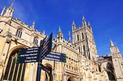 Gloucester-Kathedrale lizenzfreie stockfotos