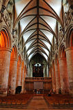 Gloucester-Kathedrale stockfotos