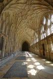 Gloucester-Kathedralenleuchte Lizenzfreies Stockbild