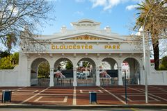 Gloucester Park. In Perth - Australia stock photos