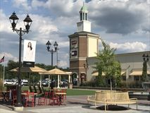 Gloucester Premium Outlets in Blackwood, New Jersey. USA Stock Photo