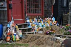 Gloucester, pueblo pesquero del mA Imagen de archivo libre de regalías