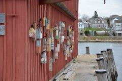 Gloucester, pueblo pesquero del mA Foto de archivo libre de regalías