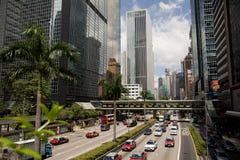 Gloucester Road, Hong Kong Stock Photography