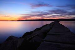 Gloucester Sunset Stock Photo