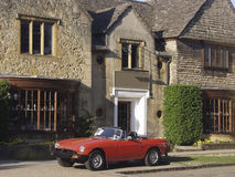 Gloucestershire cotswolds broadway village Royalty Free Stock Image