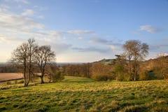 Gloucestershire rural photo stock