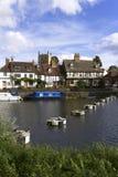 Gloucestershire - Tewkesbury pintorescos Fotos de archivo
