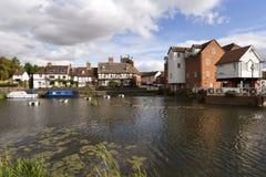 Gloucestershire - Tewkesbury pintorescos Fotografía de archivo