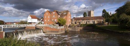 Gloucestershire - Tewkesbury pitorescos Fotos de Stock Royalty Free
