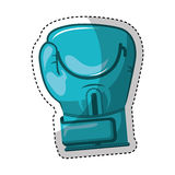 Glove boxing isolated icon Stock Photography