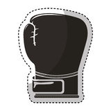 Glove boxing isolated icon Royalty Free Stock Image
