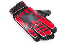 Glove of the goalkeeper Royalty Free Stock Photo