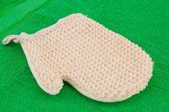 Glove massager Stock Photo
