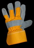 Glove with path Royalty Free Stock Image