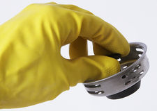 Glove and Stopper Stock Image