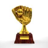 Glove trophy Stock Photo