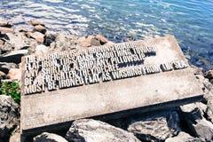Glover Denis μνημείο στον Ουέλλινγκτον Στοκ εικόνες με δικαίωμα ελεύθερης χρήσης