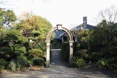 Glover house in Glover garden, Nagasaki Royalty Free Stock Photo