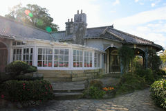 Glover house in Glover garden, Nagasaki Royalty Free Stock Image
