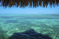 Glovers Atoll view Royalty Free Stock Images