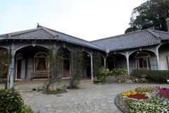Gloverträdgård i Nagasaki Royaltyfri Bild
