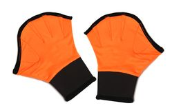 Gloves for aerobics Royalty Free Stock Photo