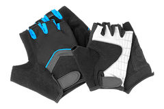 Gloves bike. Stock Photos