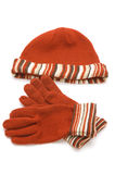 Gloves and cap Stock Photography