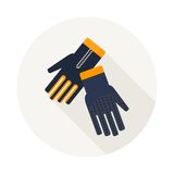 Gloves for diving Stock Photography
