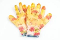 Gloves for the gardener Stock Photo