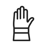 Gloves icon Royalty Free Stock Images