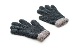 Gloves on white background. Gloves isolated on white background stock photo