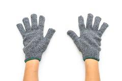 Gloves on white background. Gloves isolated on white background stock image