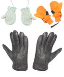 Gloves and mitten Stock Photography