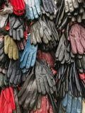 Gloves for sale royalty free stock photos