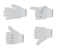 Gloves set2 Stock Photography