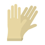 Gloves sterile surgery icon. Illustration eps 10 Royalty Free Stock Image