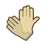 Gloves surgery latex medical Stock Photo