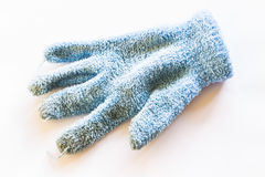 Gloves used - blue Royalty Free Stock Image