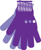 Gloves vector Royalty Free Stock Photos