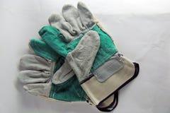 Gloves for welding Stock Photo