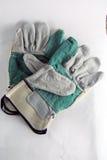 Gloves for welding Stock Image