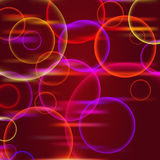 Glow abstract form Royalty Free Stock Image