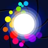 Glow Background Indicates Light Burst And Design Stock Images
